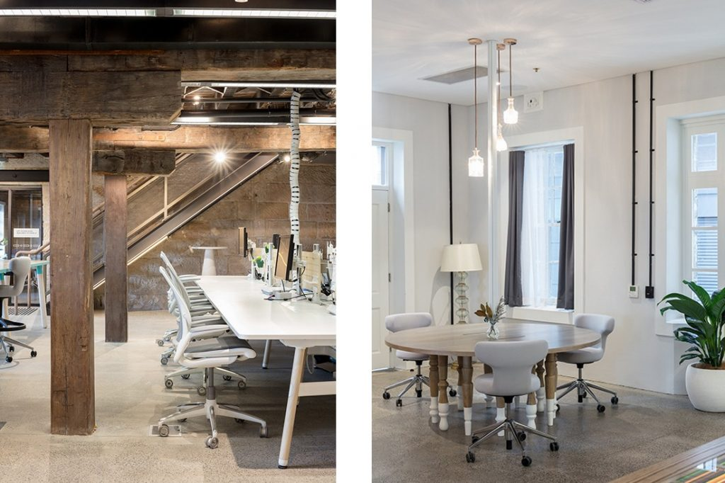 From Here On consultants new workplace by Siren Design.