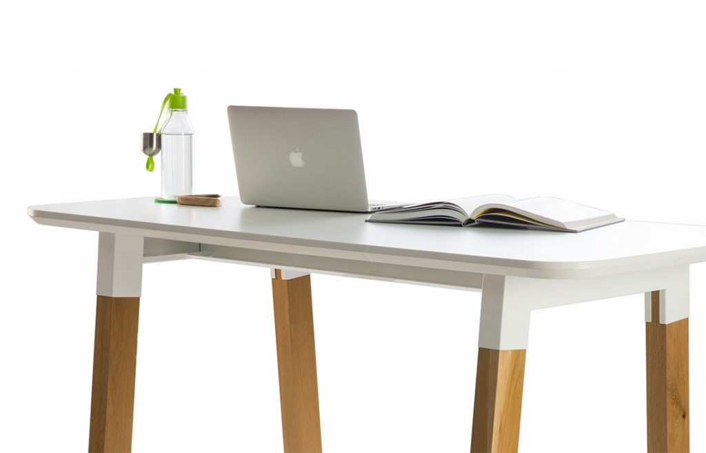 Slab Standup Desk Luxxbox Furniture Modern Workplace