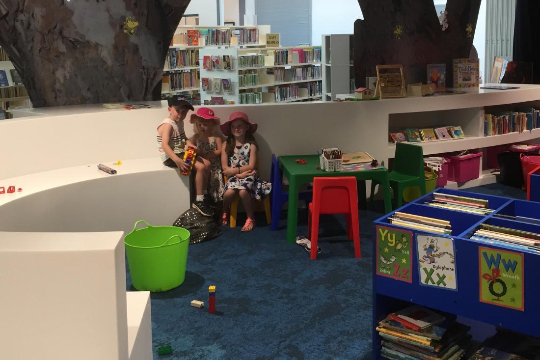 Goondiwindi Library children section