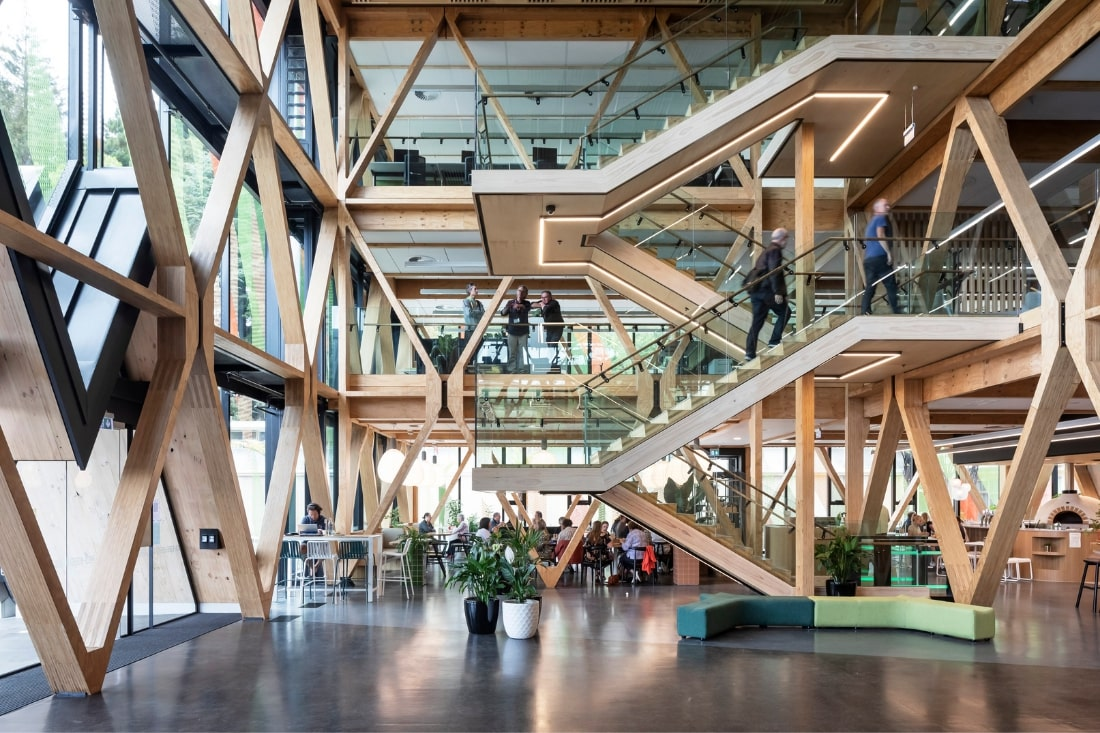 Sustainability, innovation and beauty form The Building