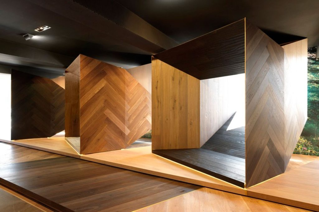 Tongue n Groove's Melbourne Showroom, winner of the Australian Interior Design Awards (2013) in conjunction with Tobias Partners.