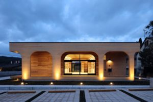 cross laminated timber structure built in two days in Japan