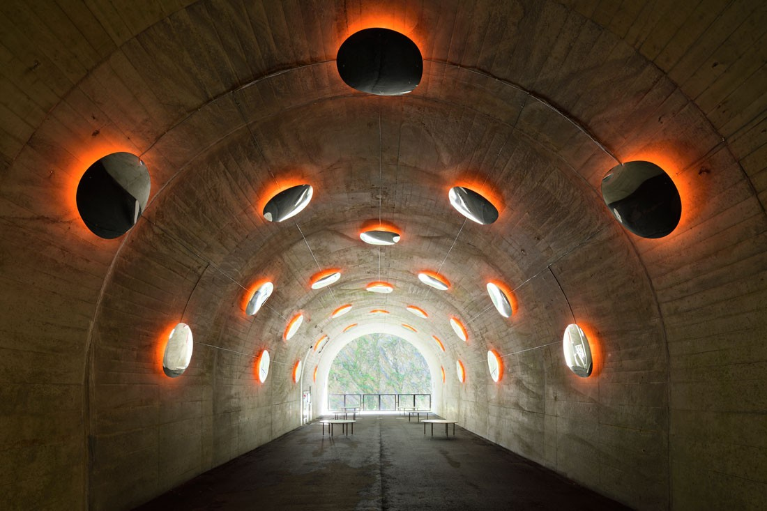 mindesign lights tunnels