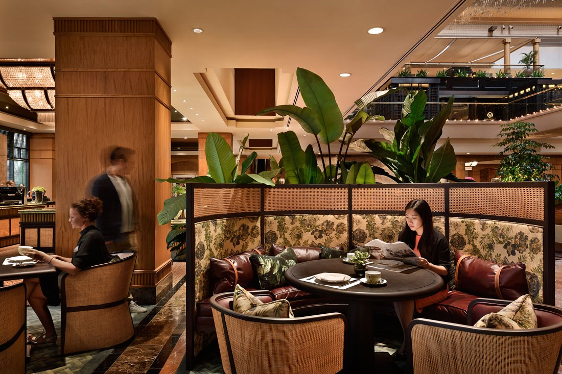 Tropical colonial? HASSELL designs Dolcetto Tea Lounge at the Regent