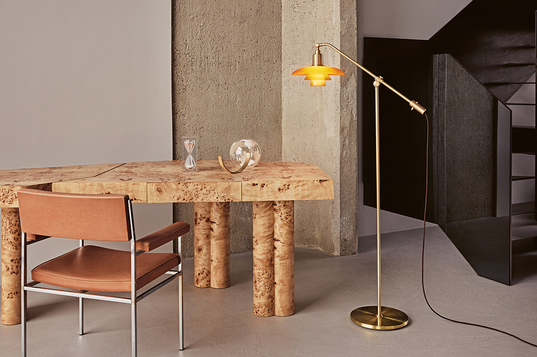 a warm personal glow from a louis poulsen collectors item architecture design