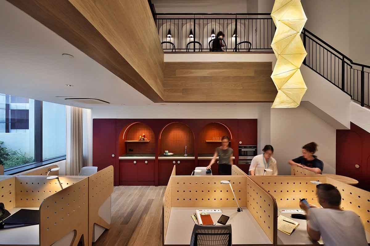 The Working Capitol Robinson Road Singapore By Hassell
